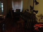 My living room with all my crap in in