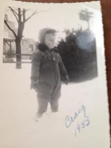 Dad, very young, in Mechanicsburg