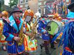 Mummers in the 2014 Philadelphia 4th of July parade